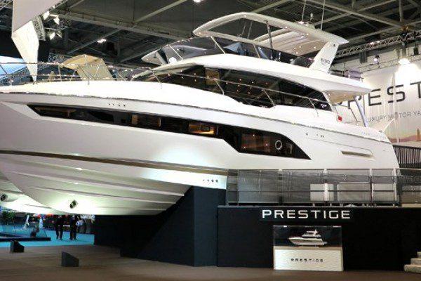 Prestige 630 Launch at London Boat Show - Ancasta