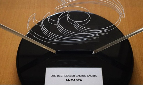 Best Global Sailboat Dealer Award - Ancasta
