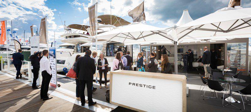 Prestige Southampton Boat Show Stand Ancasta