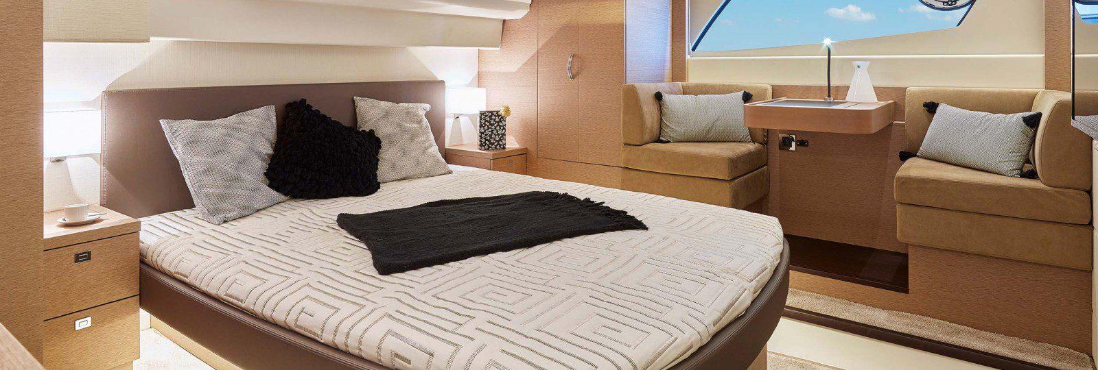 Prestige 500 master cabin