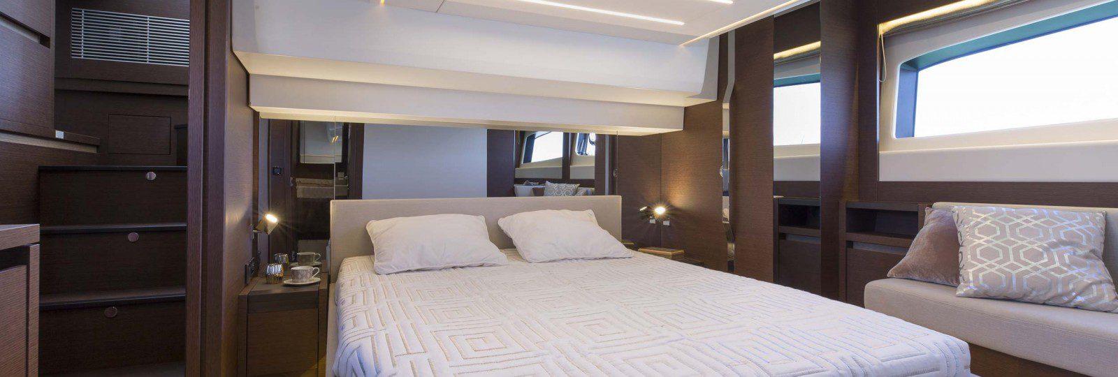 Prestige 520 master cabin