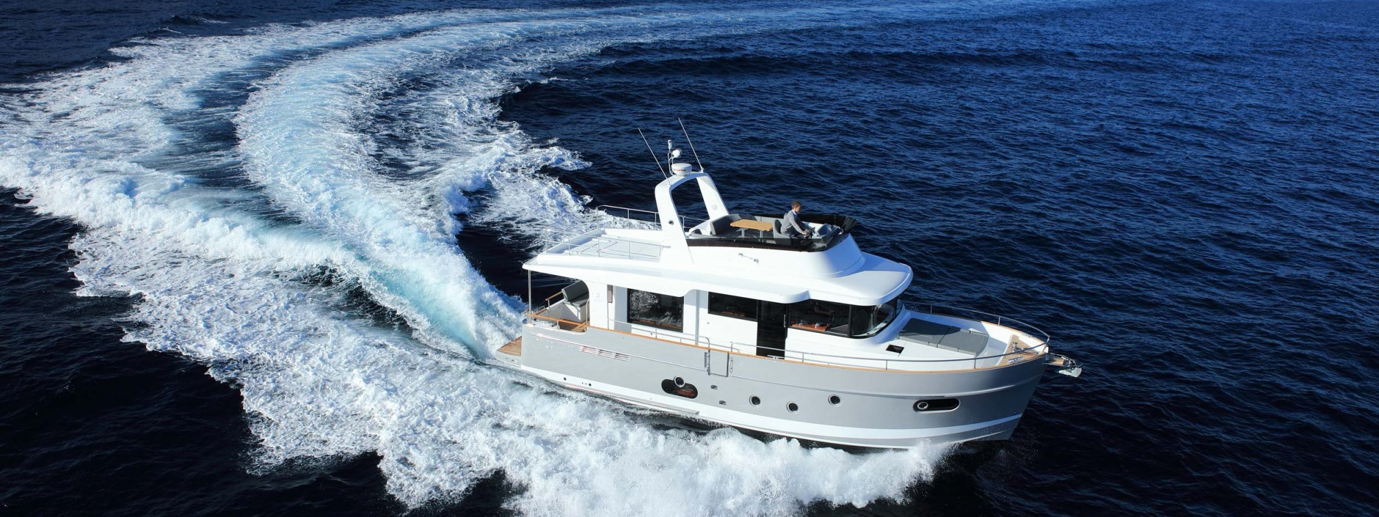 Swift Trawler 50 running