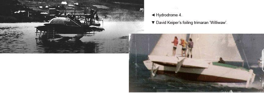 Development of Foiling Sailboats - Ancasta