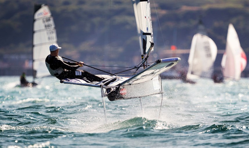 Foiling Moth - Development of Foiling Sailboats - Ancasta