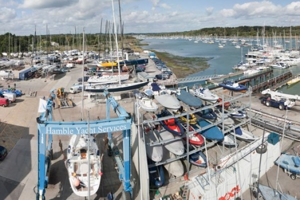 Hamble Yacht Services refit and Repair - Ancasta
