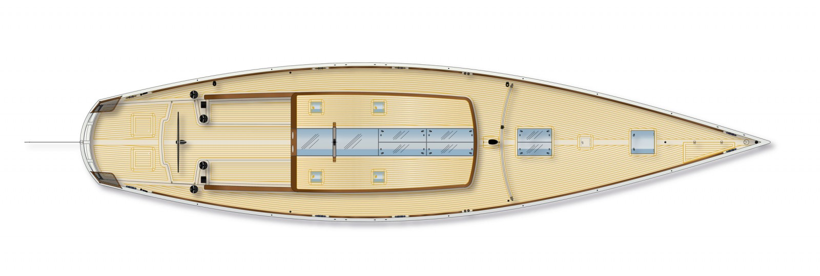McCONAGHY classic 67 deck plan