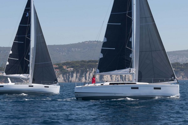 Oceanis 41 point 1 and 38 point 1
