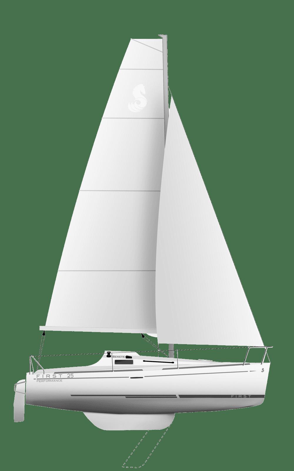 Beneteau First Range Line Drawing