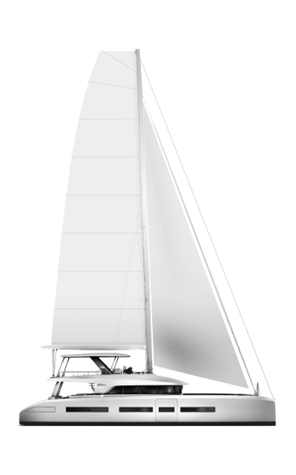 Lagoon Sailing Catamarans Range Line Drawing