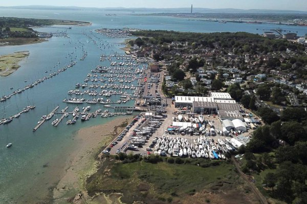 Port Hamble aerial
