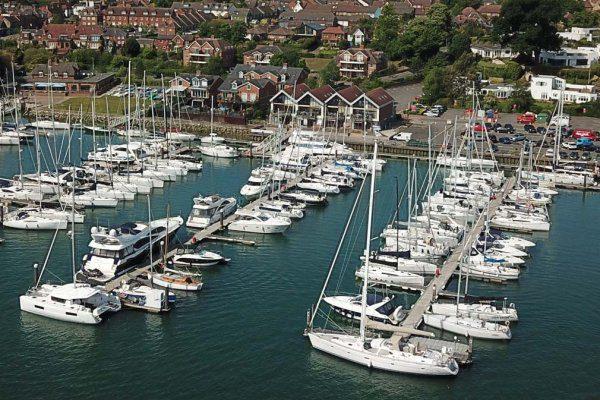 Port Hamble office aerial