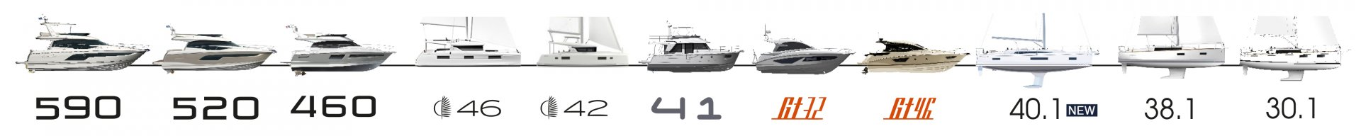 New boat line up