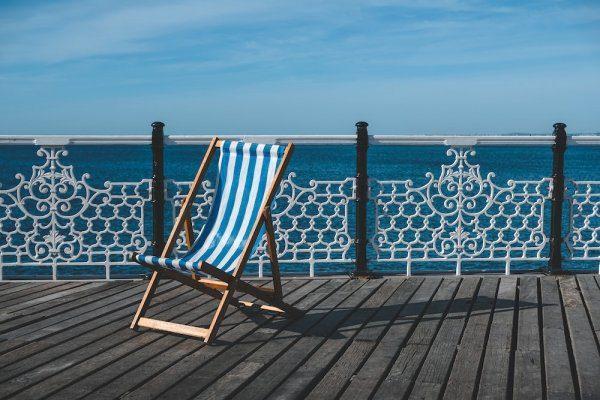 Ancasta Brighton Office Deckchair