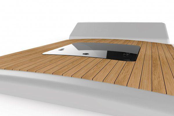 Lewmar Horizon hatch in deck
